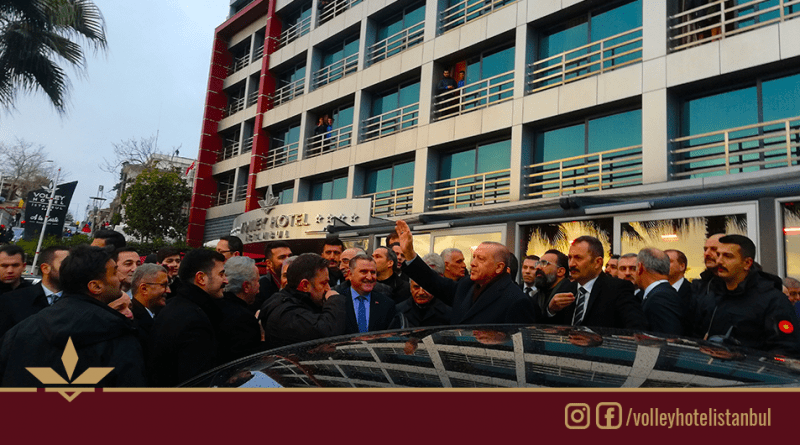 Cumhurbaşkanı Erdoğan'dan Burhan Felek Atletizm Stadı Açılışı