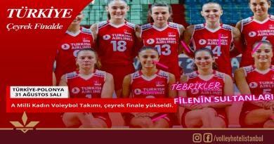 Avrupa Şampiyonası'nda, Türkiye çeyrek finalde